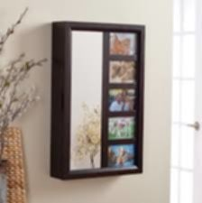 With Full Length Wall Mirror Storage Guest