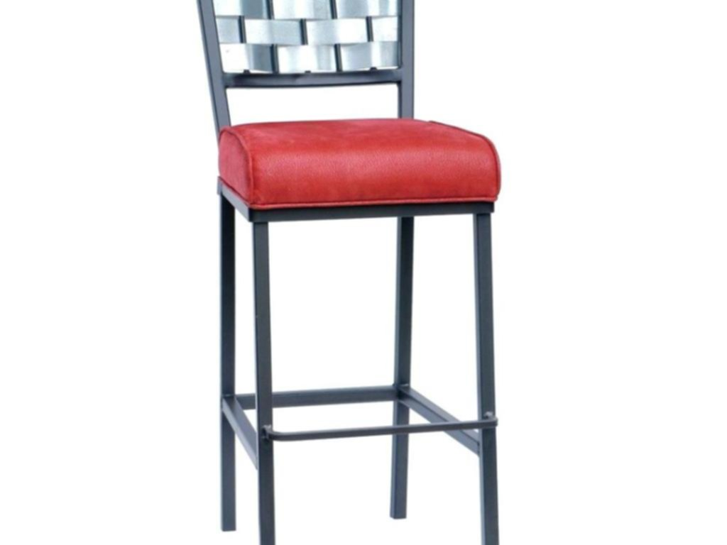 Install Metal Counter Stools With Backs